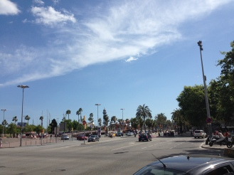 Verkehr in Barcelona