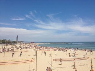 Beach Volleyball spielen in Barcelona - Erfahrungen Ales Consulting International