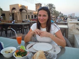 Typisch arabisch essen am Creek Dubai - Erfahrung Ales Consulting International