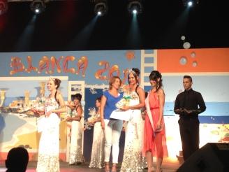 Lanzarote / Playa Blanca Wahl der Schönheitskönigin