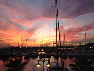 Typischer Sonnenuntergang Lanzarote - Ales Consulting International