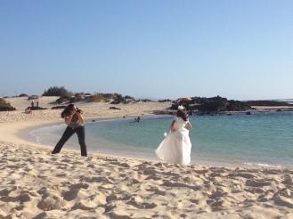 Hochzeit auf Fuerteventura - Fotos am Strand
