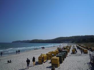 Rügenstrand und Strandkörbe - Praktikum Ales Consulting International