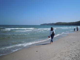 Spaziergang am Meer - Rügen - Praktikum Ales Consulting International