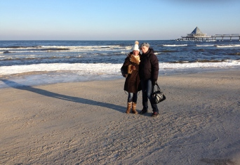 Usedom im Winter - Praktikum Ales Consulting International