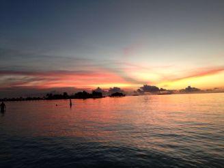 Sonnenuntergang Malediven - Ales Consulting International Erfahrungen