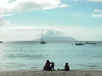Abend am Meer Seychellen - Auslandspraktikum Ales Consulting International