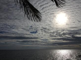 Sonnenuntergang Puerto del Carmen Praktikumsbericht Lanzarote