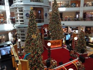 Weihnachts-Shopping Kuala Lumpur Malaysia Praktikum