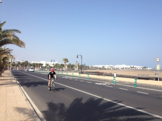 Radsport Lanzarote - Kanaren - Tony Neubauer