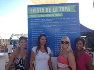 Fiesta de la Tapa Lanzarote Studenten Ales Consulting International