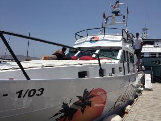 Auf zur Chilligen Cruise - Playa Blanca