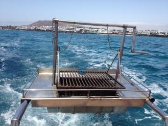 Grillen auf dem Meer - Lanzarote