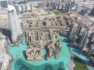 Blick vom Burj Khalifa - Erfahrungen Auslandspraktikum Ales Consulting International