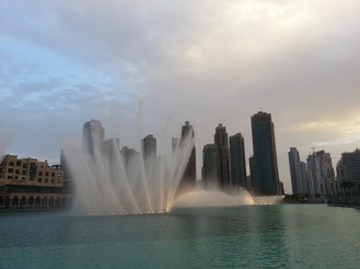The Fountains - Dubai - Praktikumsbericht Ales Consulting International