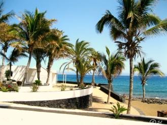 Strandaufgang Puerto del Carmen