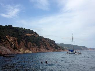Ausflug ans Meer Barcelona