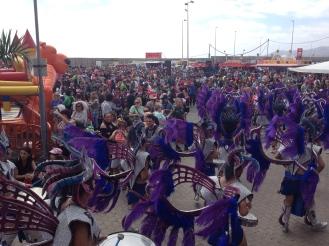 Batucada - typisch Kanarischer Karneval