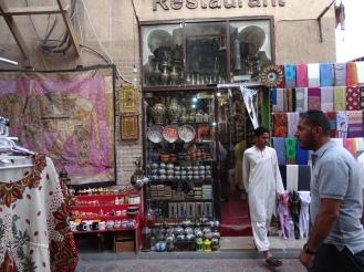 Antikes Dubai - Markttreiben - Shopping