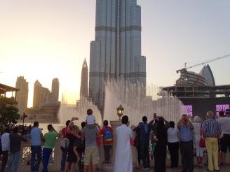Dubai Fountains / Burj Khalifa Praktikumsbericht