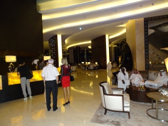 Hotel Lobby Luxushotel Dubai Praktikum Ales Consulting International