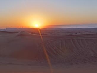 Dubai Dessert Sonnenuntergang Safari