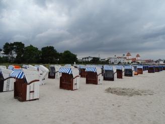 Besuch am Binzer Strand - Insel Rügen