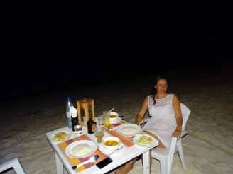 Dinner am Meer Malediven Erfahrung