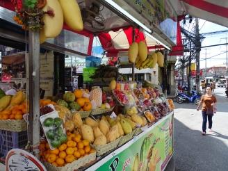 Patong Beach Exotische Früchte Praktikum Phuket