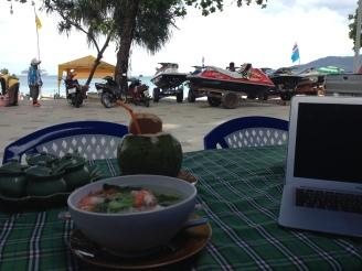 Patong Beach View und Wassersportmöglichkeiten