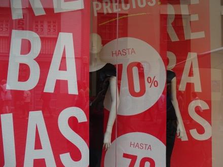 Rebajas - Schnäppchen shoppen in La Palma Kanaren