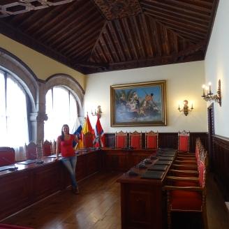 Santa Cruz de La Palma Sitzungssaal Regierung