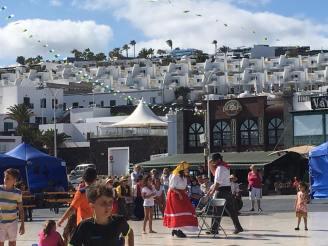 Auslandspraktikum Lanzarote Puerto del Carmen Fiesta Dia de Canarias Ales Consulting International