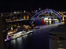 Sydney Vivid festival - bridgelight - experiences hotel internship - Ales Consulting International