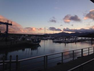 Sonnenuntergang Puerto del Carmen Hafen