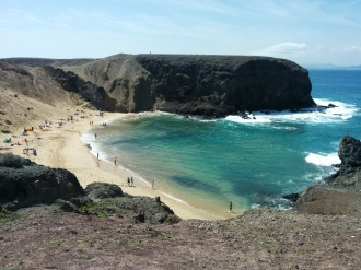 Erfahrung Ausflug Playa Papagayo Lanzarote Auslandspraktikum Ales Consulting International