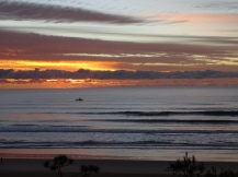 Surfer View Sonnenaufgang Australien - Praktikum Ales Consulting International