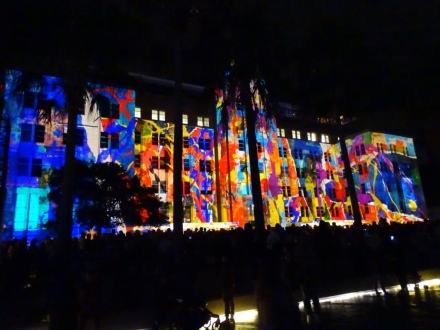 Vivid Festival - Light Show - Sydney Harbour