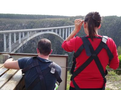 Unique Experience Africa: Bloukrans Bungy Bridge South Africa Ales Consulting International