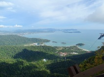 Aussicht Cable Car Malaysia Langkawi