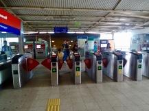Eingang Bahn KL