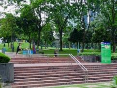 Sport im KLCC Park Kuala Lumpur