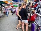 Imitationen Shopping China Town KL