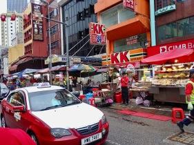 Street Food China Town Kuala Lumpur