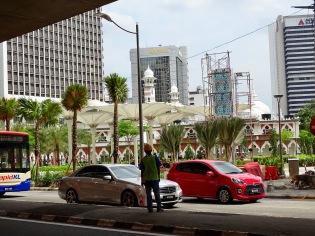 Masjid Jamek Moschee KL im Bau