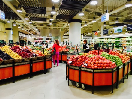 Dubai Marina Supermarkt Obstangebot