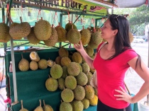 Durian Fruit Food Tipps Malaysia Nannette Neubauer