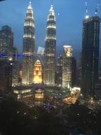 Ausblick Skybar Petronas Towers Kuala Lumpur