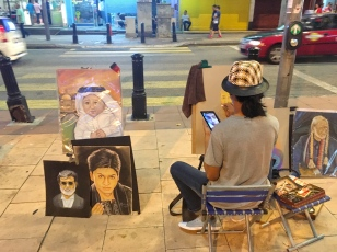Street Artists Arab street KL