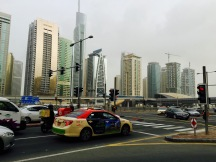 Verkehr Rush Hour Dubai
